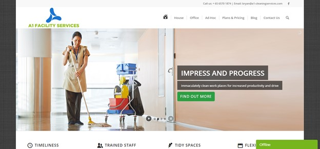 Best Office Cleaning Singapore   A1 Facility Services