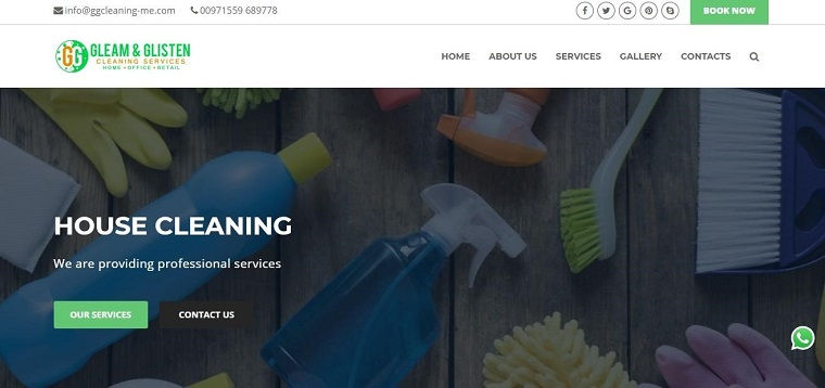 Best Cleaning Services Abu Dhabi | Gleam & Glisten