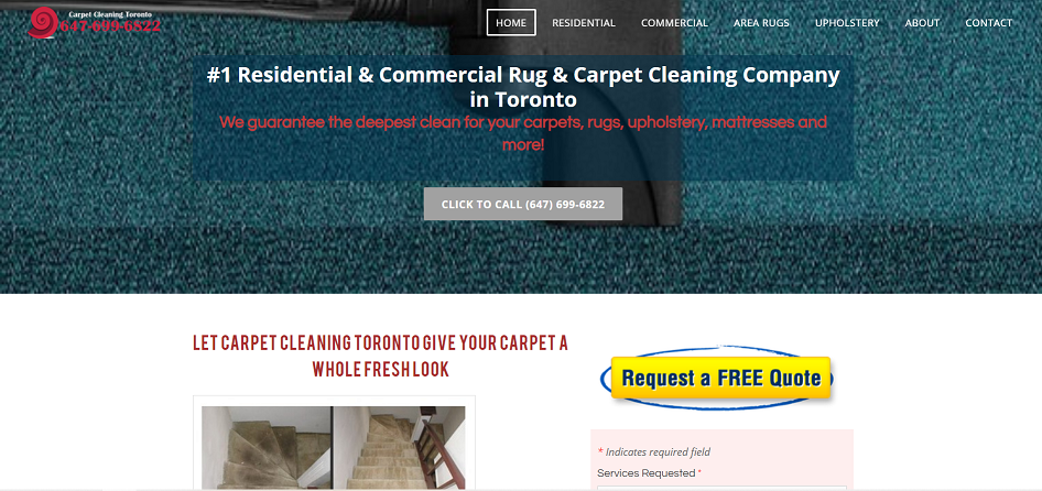 Carpet Cleaning In Toronto