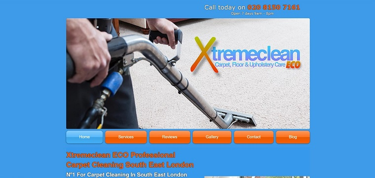 Best Carpet Cleaning London | Xtremeclean ECO