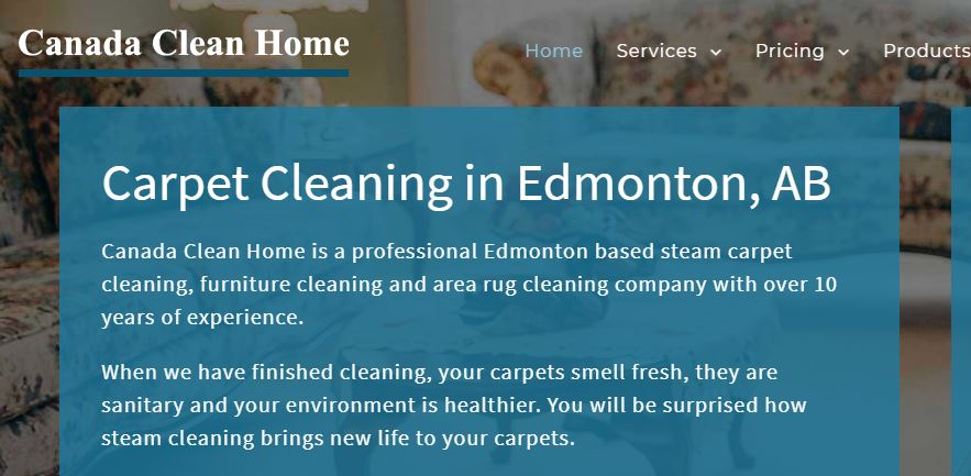 Canada Clean Home - Best Cleaning Services in Edmonton