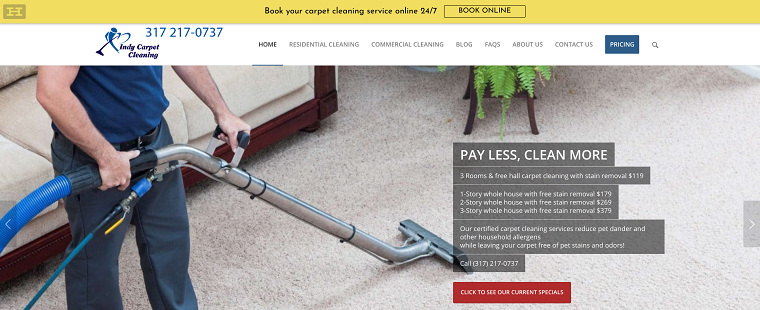 The 9 Best Options For Carpet Cleaning In Indianapolis 2020