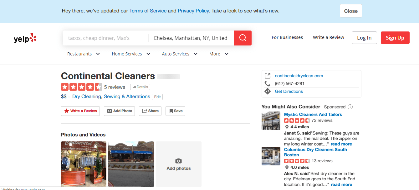 Dry Cleaners Boston 5