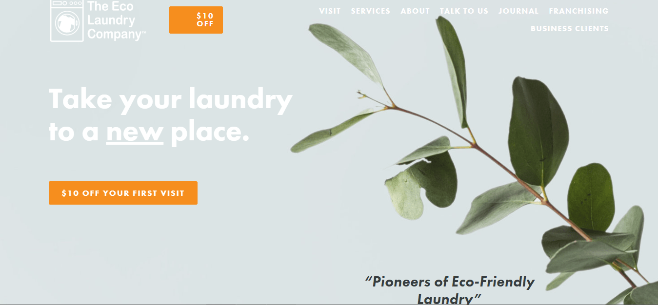 The Eco Laundry Company's Homepage