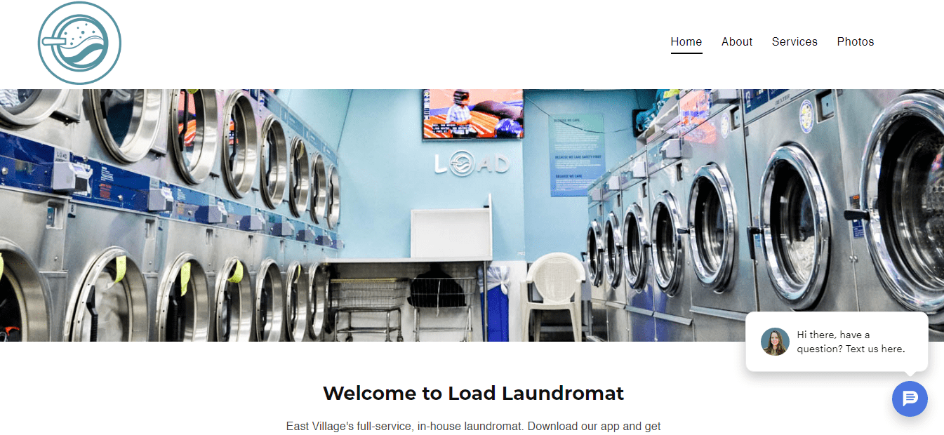 Load Laundromat's Homepage