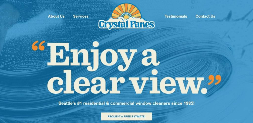 Crystal Panes Window & Gutter Cleaning's Homepage