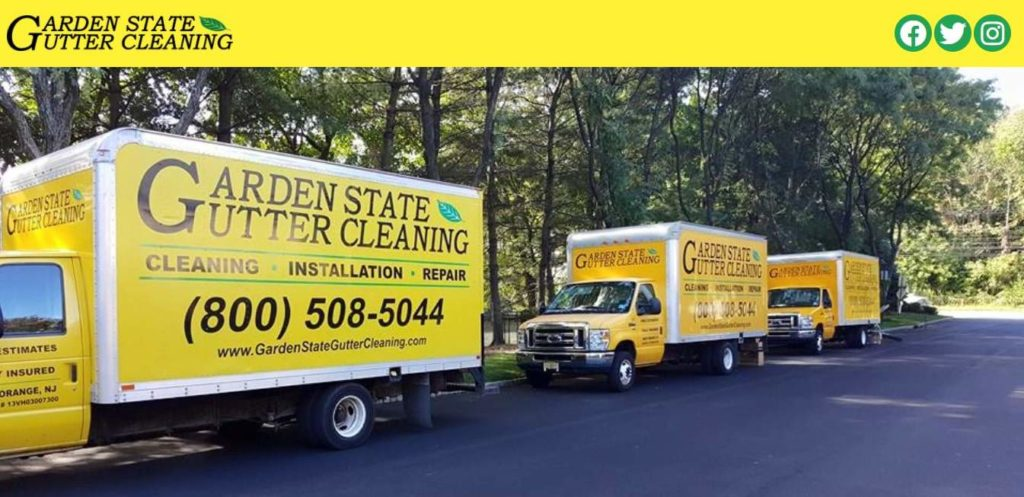 Garden State Gutter Cleaning's Homepage